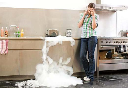 dishwashing tips Warner Service